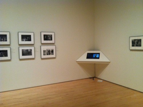 New installation at SFMoMA!  Multitouch kiosk showing 8mm films of Gary Winogrand. http://www.sfmoma.org/exhib_events/exhibitions/452 more on the interactive including a video at: http://ideum.com/interactive-exhibits/garry-winogrands-films-at-sfmoma/