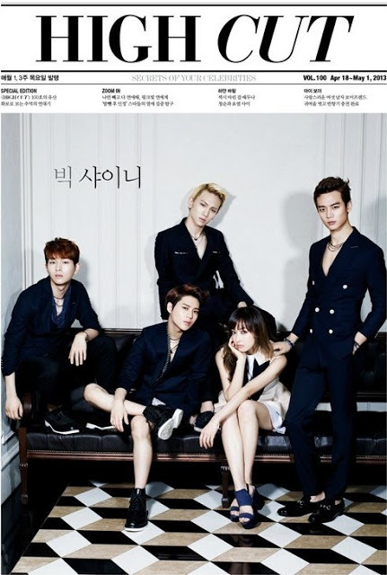 F(x): Victoria & SHINEE - High Cut Photos (1)