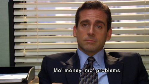theofficenbc:  7/37 wise words of Michael Scott