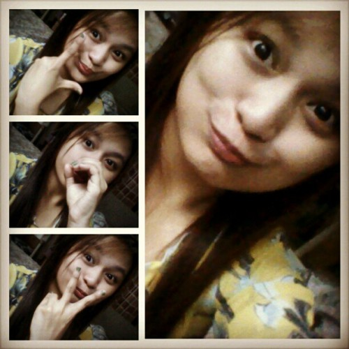 My first vanity picture for 2013! Hooray! Spread LOVE! <3 #hahaha #walangpatawad #lol #hatersgonnahate #lolagain #me #faces #instagram #vanity #moi #igdaily