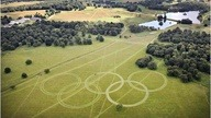 Largest Olympic Ring http://bit.ly/UkfMDe