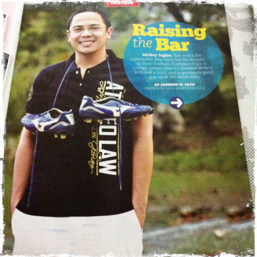 Check out Inquirer's Sunday Magazine! :)