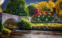 Llanrwst Tea Room ♦ Conwy Valley, Snowdonia, North Wales | by Joe Price