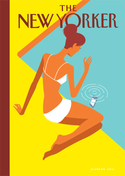 Love this New Yorker cover by Christoph Niemann. Makes me long for summer!