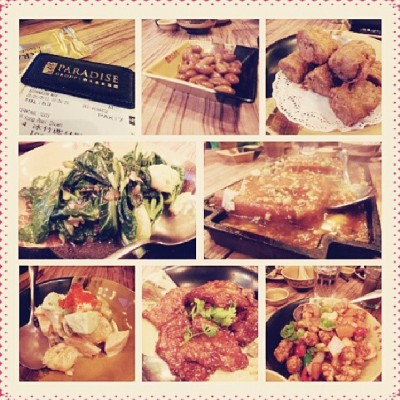 Dinner just now with family at Paradise Inn :) #paradiseinn #family #sunday #dinner #foodporn