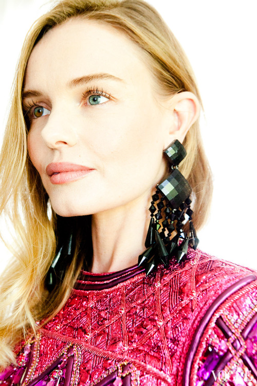 Kate Bosworth getting ready for the 2013 Met Gala