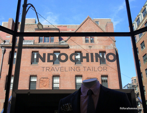 Indochino Traveling Tailor Boston