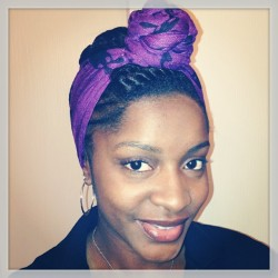 Scarf'd up for a different look, at least for the moment. #naturalhair #accessories #scarf #protectivestyling