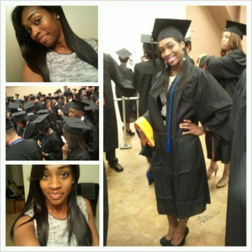 Today was one of the best days of my life. I graduated with a Bachelor's of Science degree in Psychology, Cum Laude of my class. A huge accomplishment on my behalf and a great celebration of the person that made it all possible — my mother. Nothing could have spoiled my day today. I am now a Virginia State University Alum, Class of 2013. I'm only going UP from here. Thank you to everyone who has loved and supported me throughout this 4 year process. Most importantly, thank you to my mother for her 21 years of support (22 years next week lol) I really appreciate her and all she's done for me. From Virginia Wesleyan College to a Virginia State University graduate, I finally made it!!! I'm filled with so many emotions right now. Happy Mother's Day Mommy!!!