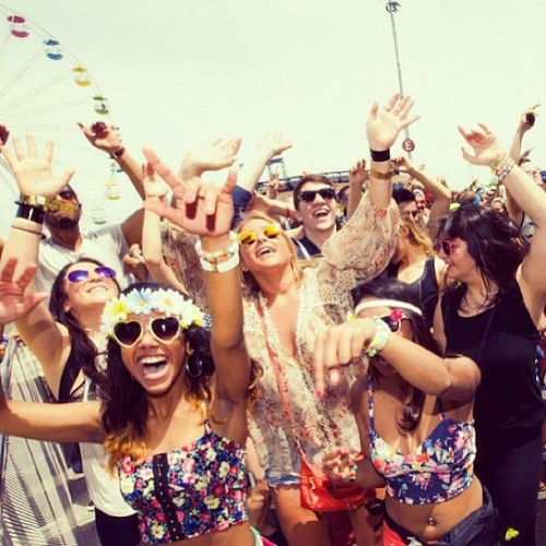 allthatyoungblood:  EDC New York!! #regram #edcny #goodvibes