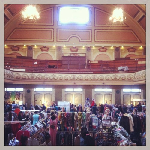 Vintage Market #london (at Shoreditch Town Hall)