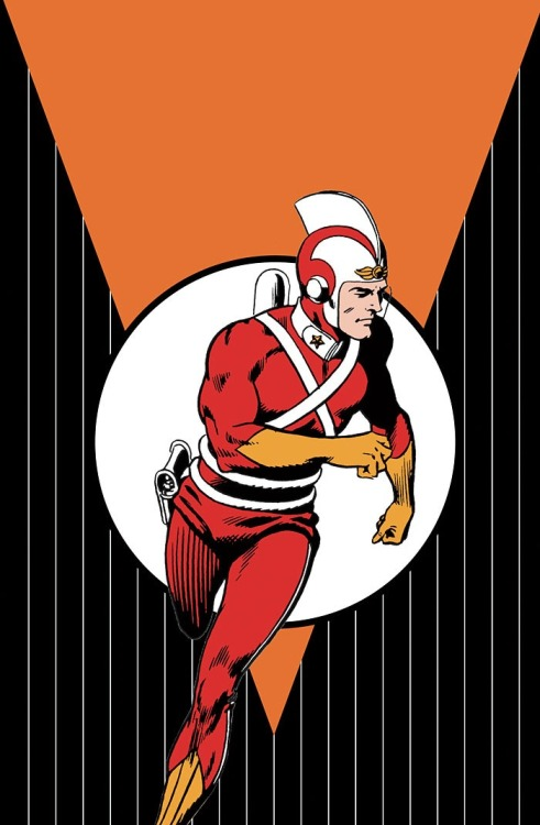 twofistedpulp:  Adam Strange From DC Comics.