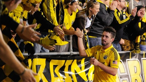 Columbus Crew Sign Danny O'Rourke To Extension For 2013 Danny O'Rourke will be staying in Columbus for at least one more season after inking a deal with the Crew for the 2013 season. The 29-year old defender has played 123 games for his hometown Crew since joining from New York Red Bulls in 2007. Deals of the contract were not released as per club policy. Source: http://www.thecrew.com/news/2012/12/crew-re-signs-danny-orourke