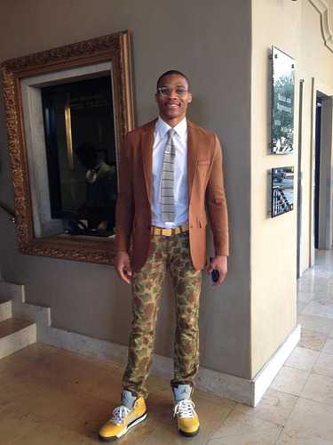 russell westbrook Givenchy nba fashion