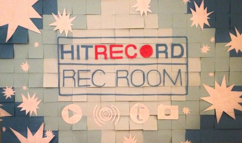 "leftcoastjane:  hitrecord:  ""Sundance 2013 Rec Room: A Post-It Remix"" REmix by m00njumper  Love this version of the recroom"
