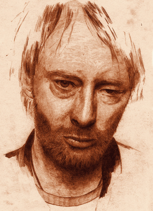 I found a Thom sketch I did a couple of years back for uni.