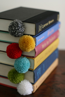 Yarn Ball Bookmarks by DesignMom