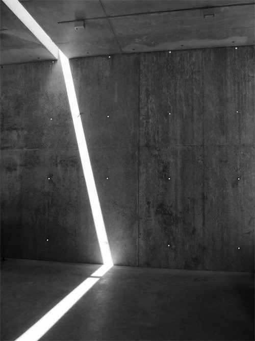 light + concrete