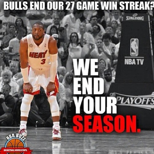 I know some y'all are mad. But I had to #repost #HeatNation