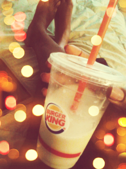 Burger King Pina Colada spiked w/ Rum is Aaaaamazing! !