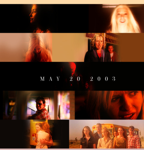 izkim:  Buffy the Vampire Slayer ended 10 years ago; May 20, 2003