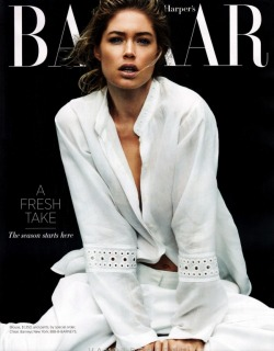 d-aphne:  ☆ modern & fresh ☆  Doutzen Kroes for Harper's Bazaar March 2012