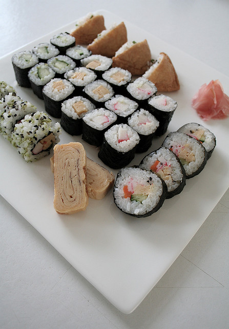 ilikeasianfood:  Sushi philosophy by Look at my photos on Flickr.