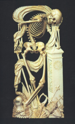 blackpaint20:  An Ivory Memento Mori ~1640
