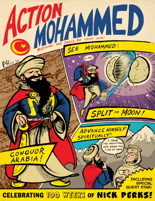 Action Mohammed by Paul Hostetler Artist blog