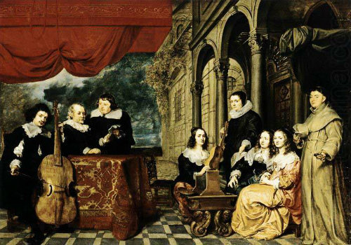 Gonzales Coques (1614/18-1684) - *The Family of Jacques van Eyk* (1650's)