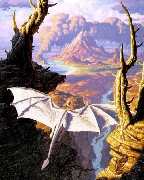 Greg and Tim Hildebrandt Hildebrandt brothers dragon fantasy art