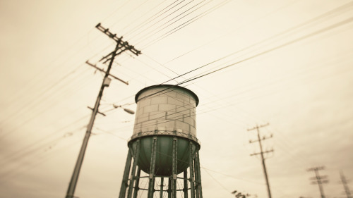 softservegirl:  02.02.12 : photo.a.day - North Park Water Tower, San Diego.softservegirl.com / archives / about