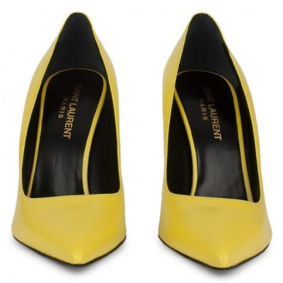 Yves Saint Laurent pumps   ❤ liked on Polyvore (see more yves saint laurent shoes)