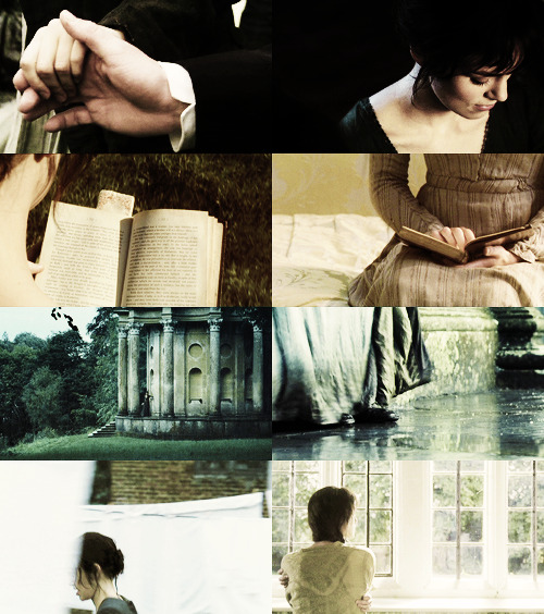 screencap meme | pride and prejudice → faceless {asked by anonymous}