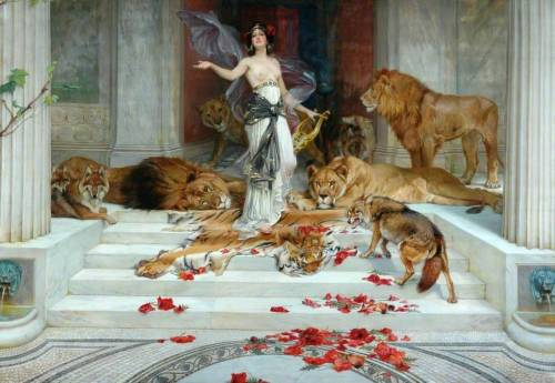 records-of-fortune:  Circe. Wright Barker, c.1889