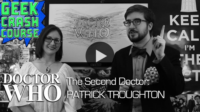 Woo! Geek Crash Course covers the Second Doctor as part of their Doctor Who anniversary celebration! WATCH NOW ON BLIP: The Second Doctor, Patrick Troughton