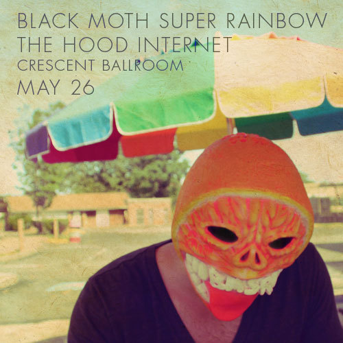 "noficulture:  SHOW: BLACK MOTH SUPER RAINBOW Experimental mindfuck enigma band Black Moth Super Rainbow (BMSR for short and hipster points) will be at Crescent Ball room on Sunday May 26th. GET TICKETS HERE. With The Hood Internet supporting this show, it's a 'can't miss."" In the spirit of weird but cool as fuck, here is sample of their work:   The tour supporting their latest release, Cobra Juicy, started this week. May 13 - Minneapolis, MN - Fine Line Music Cafe  May 15 - St. Louis, MO - Firebird  May 17 - Denver, CO - Bluebird Theater  May 18 - Salt Lake City, UT - Urban Lounge  May 20 - Seattle, WA - Neumos  May 21 - Portland, OR - Hawthorne Theater  May 24 - San Francisco, CA - The Fillmore  May 25 - Los Angeles, CA - Echoplex May 26 - Phoenix, AZ - The Crescent Ballroom  May 28 - Austin, TX - The Mohawk  May 29 - Houston, TX - Fitzgerald's  May 30 - New Orleans, LA - One Eyed Jacks  May 31 - Atlanta, GA - Masquerade (Hell Stage)  June 1 - Asheville, NC - Orange Peel"
