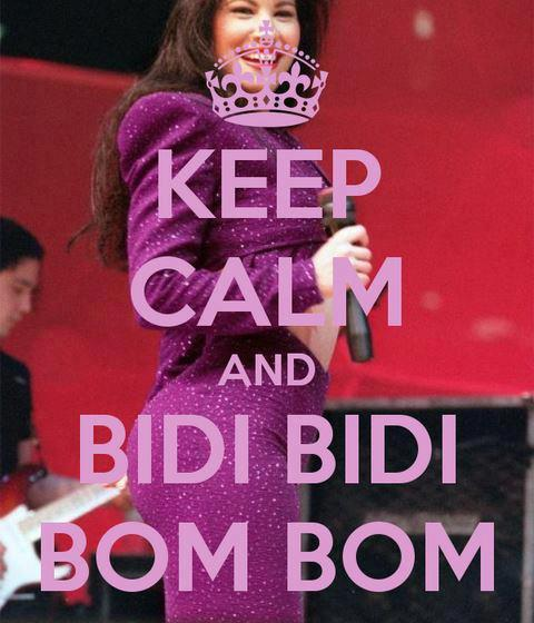 kingbeelicious:  keep calm and… bidi bidi bom bom