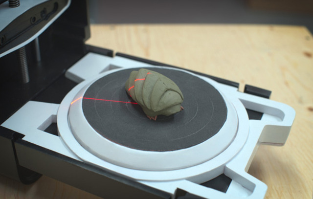 Matterform crowdfunds a simple, well-designed 3D scanner that could arrive this summer MakerBot has been the trailblazer when it comes to bringing 3D printing to the masses, but another company may beat it to the punch before it can do the same for 3D scanners. Matterform is looking to produce a simple, low-profile 3D scanner, and it's launched an Indiegogo campaign in support of the effort. The Photon 3D scanner appears to be about the size of a simple printer when shut, and then unfolds to reveal a scanning surface when being used.  via thisistheverge