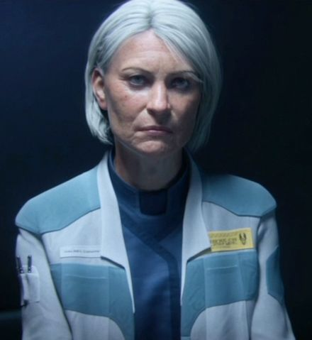 "///INTEL: DR. CATHERINE ELIZABETH HALSEY/// The creator of the SPARTAN-II and MJOLNIR PROJECTS, Dr. Halsey is one of the UNSC's brightest minds. Indeed, Halsey is an example of both the best and worst traits of humanity. Halsey was born on Endymion in Port Vernon in 2492 and from a young age was considered deeply intelligent. At the age of 15, Halsey was in the process of writing her second doctoral thesis paper on the topic of archaic line commands. Around the same time, Halsey; now a rising star in the scientific community, was invited to an academic social party where she met Dr. Elias Carver. Carver was giving a speech on ""matrix mechanics of the socio and political vectors of human expansion"". While Halsey respected Carver, she found his algorithms obsolete and corrected him in the middle of his lecture. Carver was not pleased with the interruption or being corrected by a teenager. He would commit suicide two years later, Halsey would later confess some remorse and had she known the doctor's mental state; would have treated him less harshly. During Halsey's interuption, then Captain and future Vice Admiral Michael Stanforth made note of Halsey's brilliance and temperament. Sometime after, Halsey joined the UNSC and headed numerous scientific endeavors including the creation of artificial intelligence constructs, decades later this would set the foundation for smart AIs including Cortana. In 2511 began looking for ways to improve the ORION PROJECT, retroactively known as SPARTAN-I. Six years later after having set up numerous genetic and psychological markers for candidates, Halsey traveled the UNSC's colony worlds with Jacob Keyes in order to observe some of the candidates. Keyes and Halsey began their task by observing the boy would eventually become the Master Chief. This mission also began a somewhat cold romance between the two which would later result in the birth of their daughter, Miranda. Once the candidates had been observed be either Halsey or her team, SPARTAN-II's next phase was put into action. In a highly controversial move, 75 children were kidnapped and brought to the planet Reach for training and indoctrination. The children were replaced by flash clones that would die early deaths and lessen the suspicion that the UNSC was willing to sacrifice even children to quell the insurrection. Halsey would carry the guilt of this decision with her for the rest of her life. Later one, the decision to replace the children with clones was seen as unethical, even to Margaret Parangosky, the head of the Office of Naval Intelligence, and resulted in Halsey's arrest years later. Nevertheless, Halsey pressed forward with CPO Franklin Mendez and proceeded to turn the children into soldiers. At the age of 14, the children were surgically augmented, the process of which was developed and overseen by Halsey herself. Roughly half of the children would not survive the augmentations or be crippled for life.The survivors however, became Spartans. Capable of superhuman feats of agility, strength, and, intelligence; they were the finest soldiers ever produced by the human race. When the Covenant attacked, Halsey pushed for MJOLNIR's development to better equip them. During the war, Halsey was primary at Castle Base on Reach, researching and developing new technologies to aid the war effort. Despite her busy schedule and the Spartans' deployments to numerous contested worlds, Halsey would often attempt to contact her Spartans whenever possible; contradicting the perception of her as cold and uncaring. In 2552, the Covenant discovered and invaded Reach. The Spartans, who were preparing to deploy for OPERATION: RED FLAG, quickly mobilized and valiantly defended the planet. The Covenant would overwhelm the human forces and the majority of the Spartans would be killed. The Master Chief was able to escape the battle with Cortana and discover Halo, which would start a chain of events that would bring about the end of the war.  During this time, Halsey would reunite with the surviving Spartans and head to Onyx, where: she, CPO Mendez, the remaining Spartan-IIs, and the recently discovered Spartan-IIIs, would uncover a Forerunner shield world. There they would remain trapped until rescued by the black ops team Kilo-Five. Halsey was promptly arrested by Parangosky's protege, Captain Serin Osman, a Spartan-II candidate who had failed to take to the augmentations successfully. Halsey was held aboard the station UNSC Ivanoff where she helped integrate Forerunner technology into the UNSC Infinity, and researched the recently discovered Composer. Halsey would later be brought back aboard the Infinity to help uncover the mysteries of a Forerunner artifact discovered on Requiem."