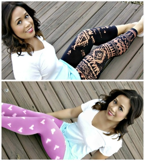 DIY Bleach Gel Pen Painted Leggings Tutorial from Reese Kistel here. Check out what fabrics not to use, how long to leave the gel on, etc… for this really easy and cheap DIY. Tip: I may practice on a scrap of fabric before you do this for real.