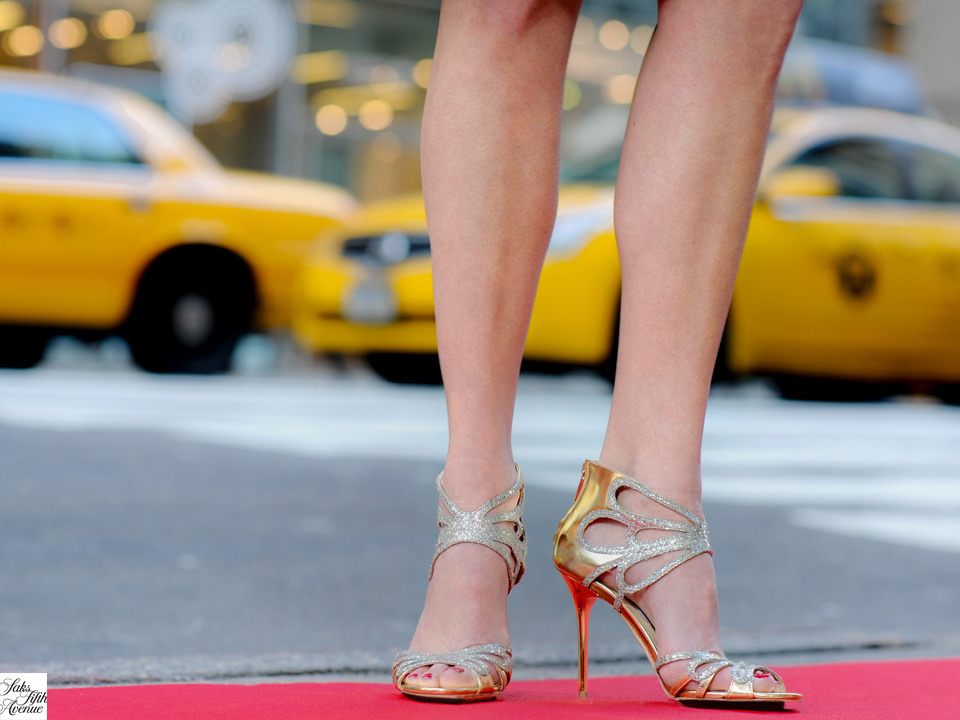 From Fifth Avenue to Tinseltown, we're excited to see the fashion (and shoes!) on the red carpet Sunday for the Oscars. Shoes, Jimmy Choo.Photo by Kristen Somody Whalen