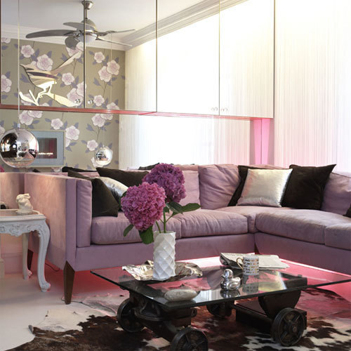 pandathugseabag:  Purple Living Room Designs: Decorating Tips and Examples | Decorating Room on We Heart It. http://weheartit.com/entry/51775313/via/PhotographSmile444