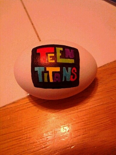 Teen Titans Egg