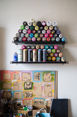 viderine:  The can stash http://deestroyeed.tumblr.com/