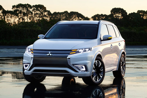 Paris 2014 Preview: Mitsubishi to debut Outlander PHEV Concept-S  Wow! Just wow!
