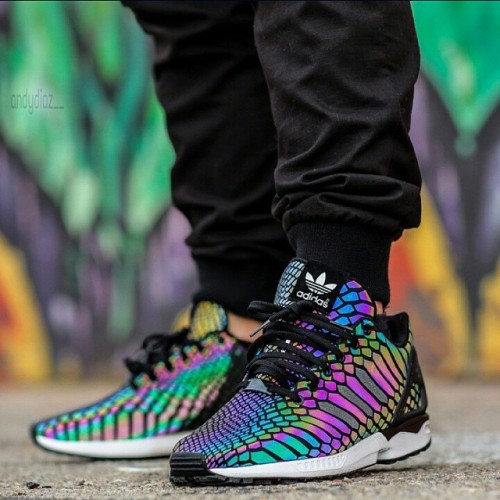 Adidas Flux On Feet