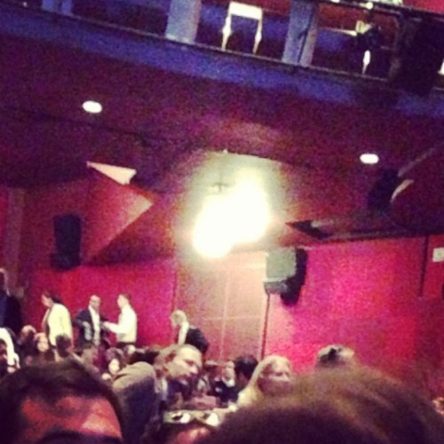 "trueotterwaits:  ""Yep that's Thom Yorke from Radiohead. He was at the premiere and I got the chance to tell him how brilliant he was at the after party and talk with him about music"".x (Star Trek Into Darkness premiere)"