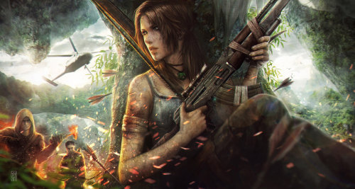 Tomb Raider 'Battle' by tincek-marincek
