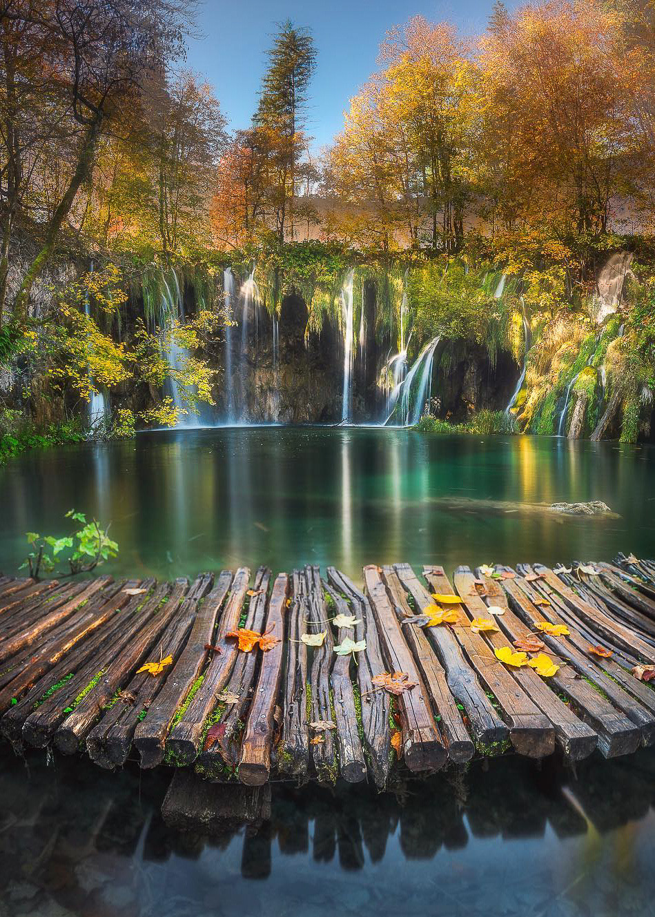 """coiour-my-world: """"Plitvice Lakes National Park, Croatia 